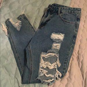 Denim - Mom jeans